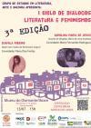 I Ciclo de diálogos Literatura e Feminismos:  terceira  Edição - Grupo de Estudos em Literatura, Arte e Cultura - cartaz